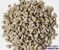 Gray stone chippings