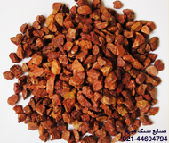 Red stone chippings